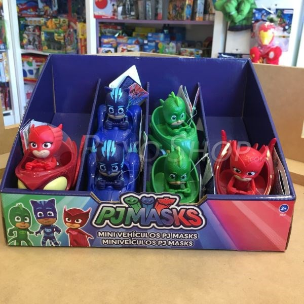 PJMASKS CON VEHICULO